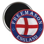 English Free Masons Magnet