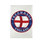 English Free Masons Rectangle Magnet (100 pack)