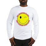 Sinister Smiley Face Long Sleeve T-Shirt