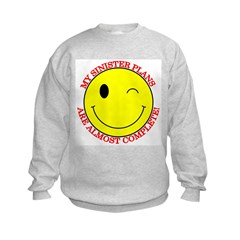 Sinister Smiley Face Sweatshirt