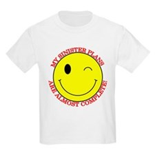 Sinister Smiley Face Kids T-Shirt