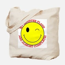 Sinister Smiley Face Tote Bag