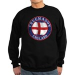 English Free Masons Sweatshirt (dark)