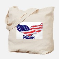 The Original Whale Tail Tote Bag