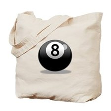 Unique Eight ball Tote Bag