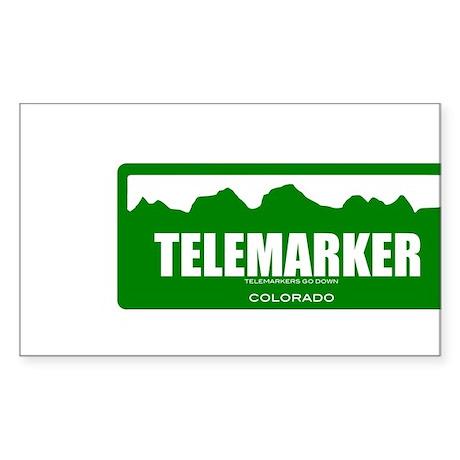 telemarker doon sticker Sticker
