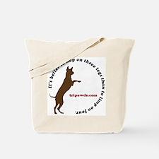 Tripawd Tote Bag