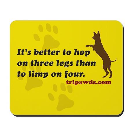 Tripawds.com Mousepad