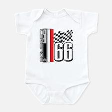 V FLAG TRANS Infant Bodysuit