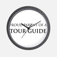 Proud Parent: Tour Guide  Wall Clock