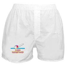 I Swim Backstroke Boxer Shorts