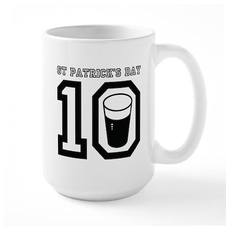 St Patrick's Day 2010 Large Mug