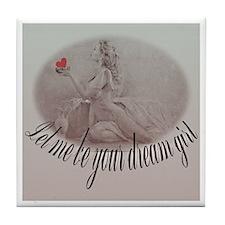 Dream Girl Tile Coaster