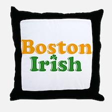 Boston Irish Throw Pillow