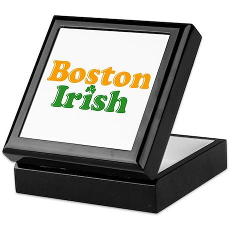 Boston Irish Keepsake Box