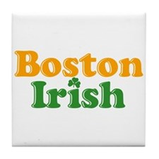 Boston Irish Tile Coaster