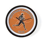 Knitting Champ Wall Clock