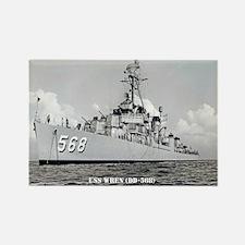 USS WREN Rectangle Magnet