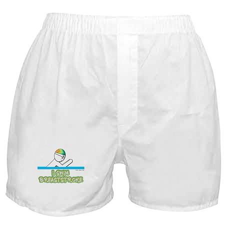 I Swim Breaststroke Boxer Shorts