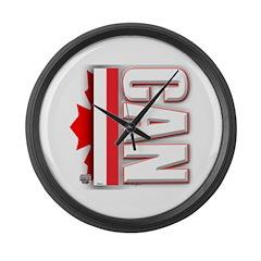 2010 Canada Olympics Large Wall Clock
