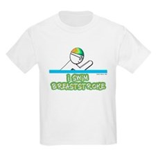 I Swim Breaststroke Kids T-Shirt