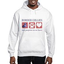Border Collie Lover Hooded Sweatshirt