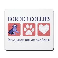 Border Collie Lover Mousepad