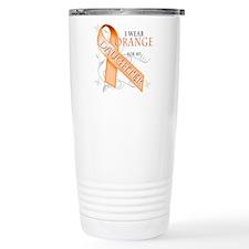 I Wear Orange for my Daughter Travel Mug