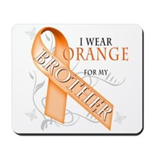 I Wear Orange for my Brother Mousepad