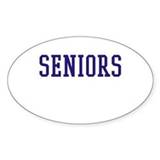 Seniors High School Decal