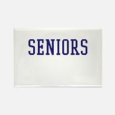 Seniors High School Rectangle Magnet
