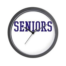 Seniors High School Wall Clock