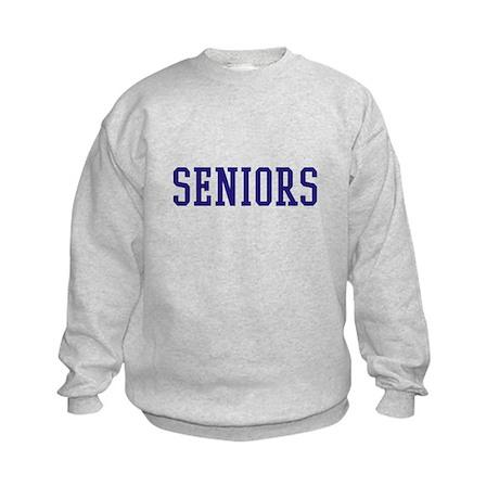 Seniors High School Kids Sweatshirt