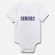Seniors High School Infant Bodysuit