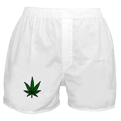 Pot Leaf Boxer Shorts