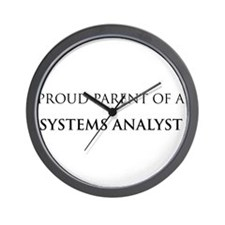 Proud Parent: Systems Analyst Wall Clock
