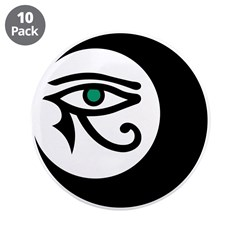 "LunaSees Logo 3.5"" Button (10 pack)"