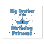 Big Brother of the Birthday P Small Poster