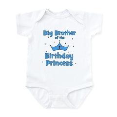 Big Brother of the Birthday P Infant Bodysuit