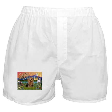 Fantasy/Yorkie (#7) Boxer Shorts