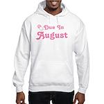 August Baby Diaper Pin Hooded Sweatshirt