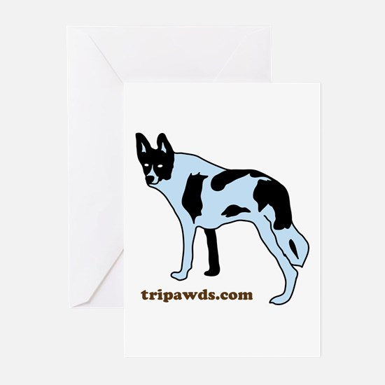 Tripawds.com Greeting Cards (Pk of 10)