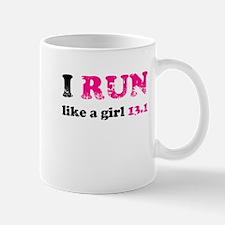 I run like a girl 13.1 Mug