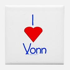 Heart Vonn Tile Coaster