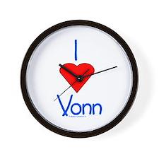 Heart Vonn Wall Clock