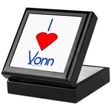 Heart Vonn Keepsake Box