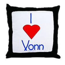 Heart Vonn Throw Pillow