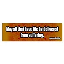 Delivered-From-Suffering-Buddhism-Bumper-Sticker.