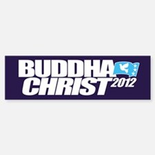 Vote Buddha Christ Mayan 2012 Peace Bumper Bumper Bumper Sticker