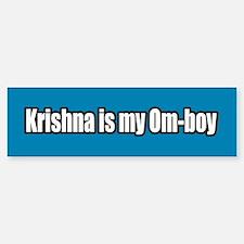 Krishna is my Om Boy Bumper Bumper Bumper Sticker